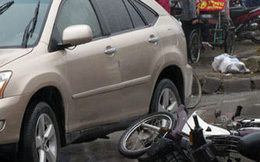 """Bình Thuận: """"Kiều nữ"""" lái Lexus tông chết người rồi bỏ trốn"""