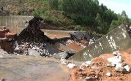 Tuyên Quang: Bất ngờ vỡ đập thủy lợi do mưa lũ