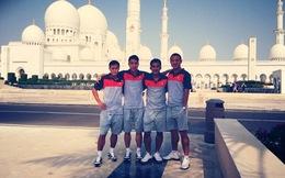 ĐT Việt Nam ung dung dạo chơi, ngắm cảnh, chụp ảnh... tại UAE