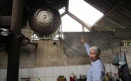 Hà Tĩnh: Mưa đá, lốc xoáy khiến 120 căn nhà tốc mái