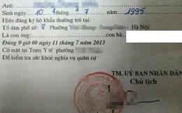Dân mạng nhốn nháo vì tờ giấy khám nghĩa vụ quân sự ngày 11/7/2013
