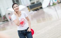 Hoa hậu Ngọc Hân thiết kế 3 chiếc áo đặc biệt