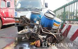 TP.HCM: 5 xe va chạm liên hoàn, 1 người trọng thương