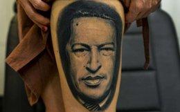 Venezuela 'rộ mốt' xăm hình ông Hugo Chavez