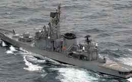 Khu trục hạm tên lửa Nhật Bản gặp hỏa hoạn