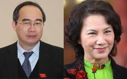 Ông Nguyễn Thiện Nhân và bà Nguyễn Thị Kim Ngân vào Bộ Chính trị