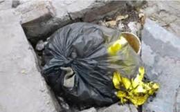 Hà Nội: Phát hiện xác thai nhi trong thùng rác
