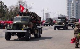Pháo tên lửa uy lực khủng khiếp của Triều Tiên