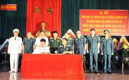 Hải quân Việt Nam nhận bàn giao lữ đoàn không quân