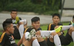 Tuyển U23 Việt Nam chơi nguyên bộ đồng phục tóc