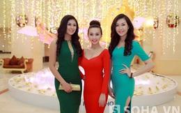 Hoa hậu Ngọc Hân đọ sắc cùng người yêu tin đồn của Đan Trường
