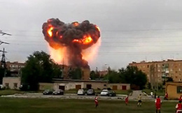 Nga: Kho chứa đạn bất ngờ phát nổ lớn, hàng nghìn người sơ tán
