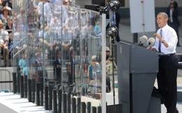 Xem bức tường kính đặc biệt bảo vệ Obama