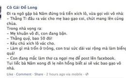 Cô Gái Đồ Long: Con đang mắc làm thơ ca ngợi mẹ trên facebook