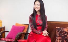 Hoa hậu Trần Thị Quỳnh đấu giá áo dài 100 triệu