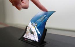 LG sẽ cho ra mắt smartphone màn hình... bẻ cong vào tháng 11