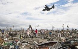 Máy bay Philippines gặp nạn trên đường đi cứu trợ