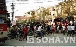 Những năm 90 người Hà Nội đi xe gì?