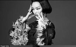 Gương mặt đầu tiên của châu Á lên bìa tạp chí Vogue của Ý
