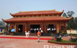 Khánh thành nhà tưởng niệm và đặt tên đường Đại tướng Chu Huy Mân