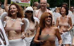 """Những vụ """"lột đồ"""" để biểu tình sốc nhất thế giới (P1)"""
