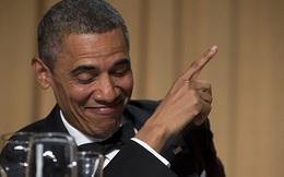 Tổng thống Obama 'khoe' ảnh để mái hiển nhi