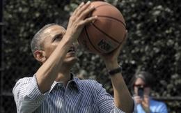 Nhà Trắng 'phân trần' việc Tổng thống Obama chật vật ném rổ