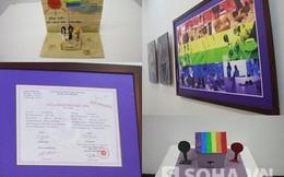 Triển lãm Tím: Nơi hôn nhân đồng giới được công nhận