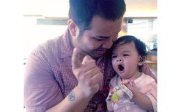 Clip con gái Phạm Quỳnh Anh bi bô đáng yêu