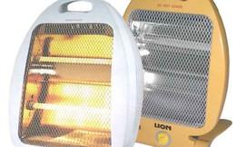 Cách sử dụng an toàn 5 sản phẩm sưởi ấm mùa đông