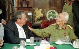 Chủ tịch Cuba điện chia buồn Đại tướng Võ Nguyên Giáp từ trần