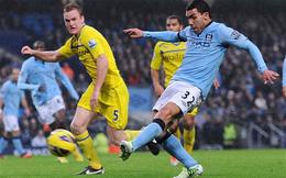 Góc thống kê: Reading vs Man City