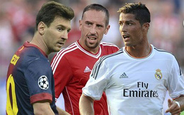 Đánh bại Messi và Ronaldo, Ribery xuất sắc nhất châu Âu