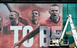 Treo poster Rooney, Man United tỏ rõ quan điểm