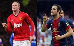 Rooney muốn ở lại, Man United tăng giá hỏi mua Fabregas