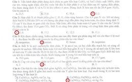 Đáp án đề thi môn Hóa học khối A năm 2013 (mới cập nhật)