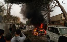 Đại sứ quán Pháp ở Libya bị đánh bom xe hơi