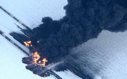 Mỹ: Tàu chở dầu phát nổ dữ đội