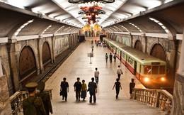 Choáng ngợp tàu điện ngầm Bình Nhưỡng...