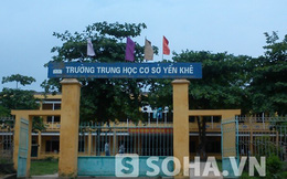 Trần tình của thầy giáo bị tố hiếp dâm ở Phú Thọ