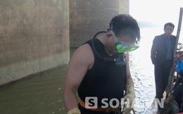 Hình ảnh mới nhất đội thợ lặn mò xác nạn nhân thẩm mỹ bị ném
