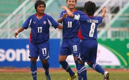 Đả bại Myanmar, nữ Thái Lan vào chung kết gặp Việt Nam