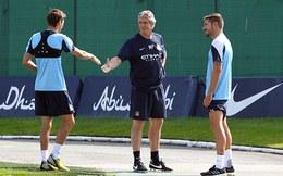 Toàn cảnh buổi tập luyện đầu tiên của Man City
