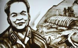 Clip tuyệt tác tranh cát về Đại tướng của họa sĩ 'Nhật ký của mẹ'