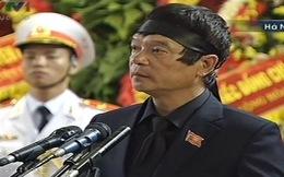 """Ông Võ Điện Biên nghẹn ngào: """"Tạ ơn tổ tiên, anh hùng liệt sĩ"""""""