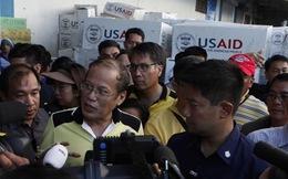 Tổng thống Philippines ở lại 'vùng đất chết'