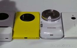 Nokia Lumia 1020 thua Samsung Galaxy S4 Zoom?