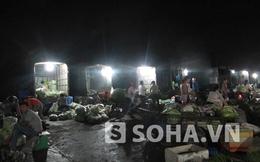 """""""Xóa sổ"""" chợ đêm trái phép ở Văn Quán trước ngày 10.8"""