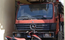 Xe thang triệu đô duy nhất của VN, 14 năm mới đi chữa cháy 1 lần