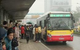 Xe buýt sẽ phục vụ đến 17h ngày 30 Tết